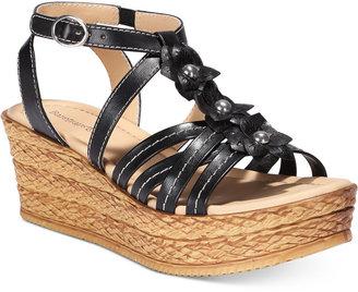 Bare Traps Fuchsia Espadrille Platform Sandals Women's Shoes $69 thestylecure.com