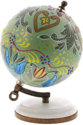 Uma Enterprises Resin & Wood Decorative Lattice Globe