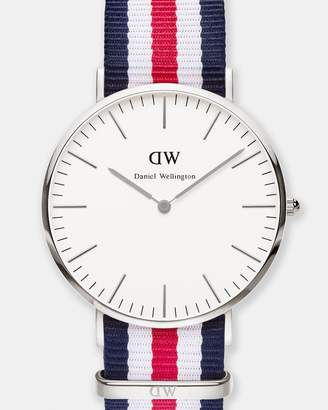 Daniel Wellington Classic Canterbury Silver 40mm