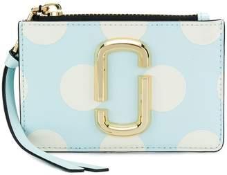 Marc Jacobs polka dot top zip purse