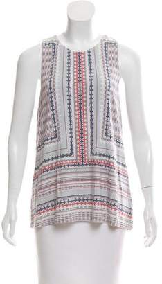 Tart Printed Sleeveless Top