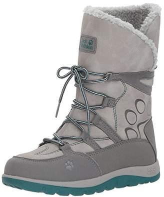 Jack Wolfskin Girls' Rhode Island Texapore High G Slip Boots,13 UK Child