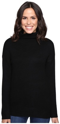 Brigitte Bailey Dita High Neck Long Sleeve Sweater $98 thestylecure.com