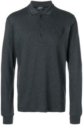 Paul & Shark long-sleeved polo shirt