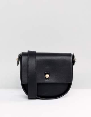 Warehouse Keyhole Saddle Crossbody Bag
