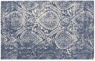 Pottery Barn Shilah Synthetic Rug - Blue