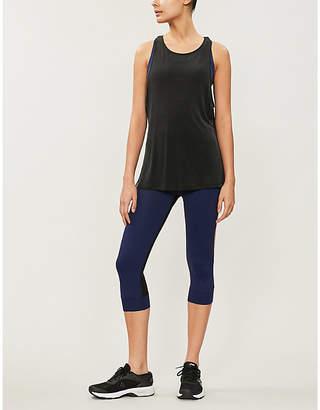 Monreal London Athlete cropped stretch-jersey leggings