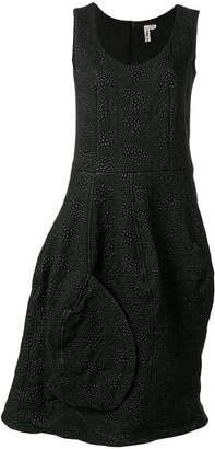 Comme des Garcons textured asymmetrically structured dress