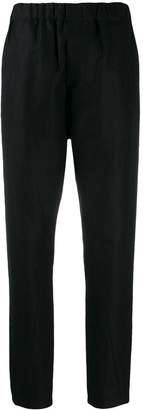 Ann Demeulemeester high-waisted cropped trousers