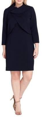 Tahari Arthur S. Levine Sheath Dress and Jacket Set