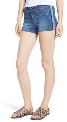 1822 Denim Side Stripe Denim Shorts