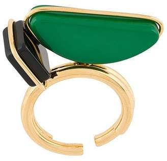 Marni geometric oversized ring