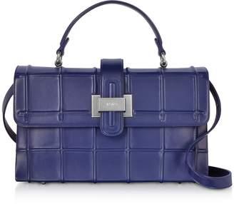 Rodo Ocean Nappa Leather Top Handle Satchel bag w/Shoulder Strap