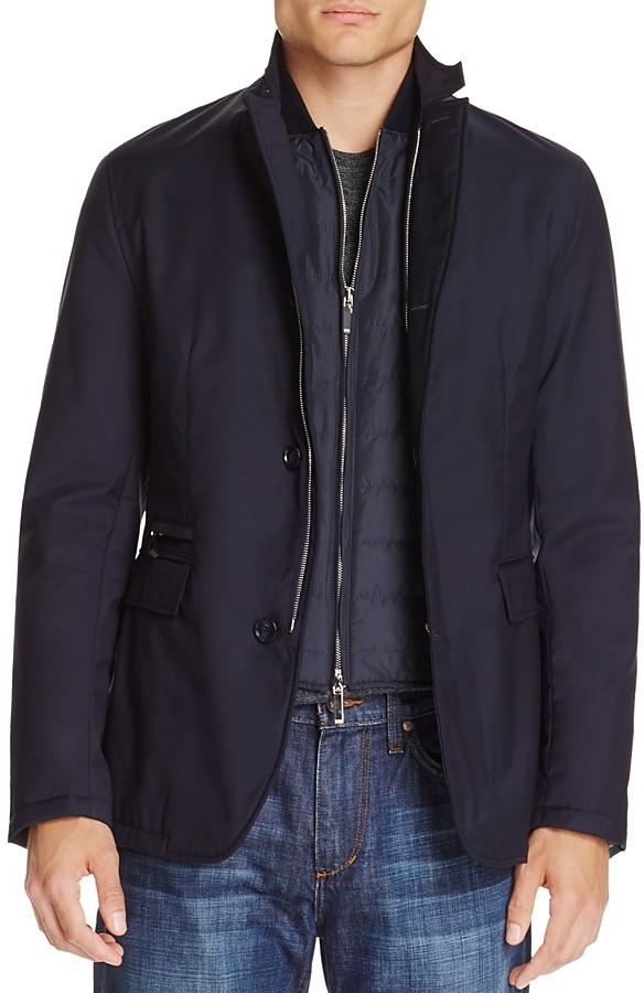 Hugo BossBOSS T-Joril Wool Layered Jacket
