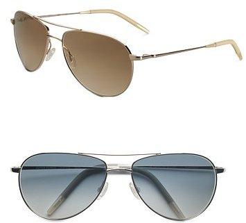 Oliver Peoples Benedict Aviator Sunglasses