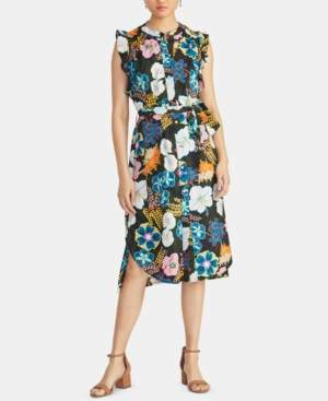 Rachel Roy Ria Floral-Print Shirtdress