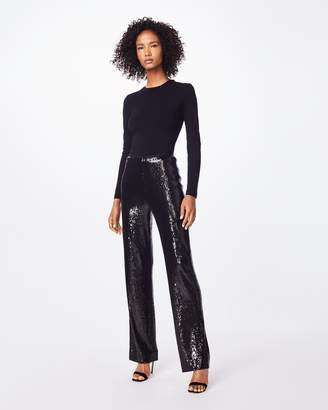 Nicole Miller Sequin High Waisted Pant
