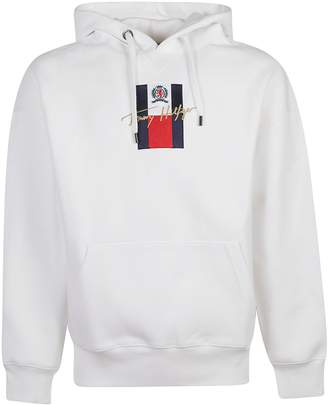 Tommy Hilfiger (トミー ヒルフィガー) - Tommy Hilfiger Logo Embroidered Hoodie