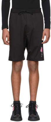 Y-3 Black James Harden Satin Shorts