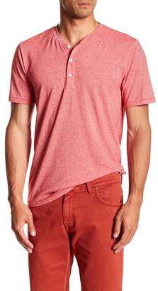 Public Opinion Short Sleeve Fineline Henley