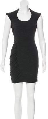 Yigal Azrouel Cut25 by Cap Sleeve Mini Dress