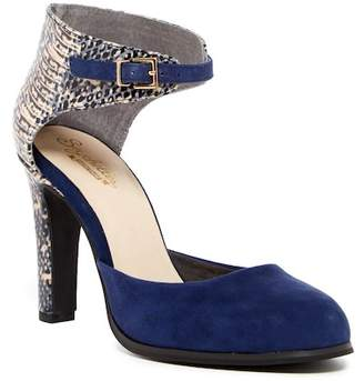Seychelles Hopeful Suede Ankle Strap Pump