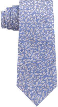 DKNY Men Geo Botanical Slim Tie