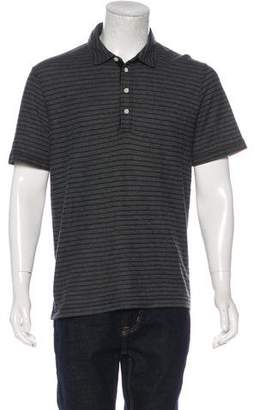 Billy Reid Striped Polo Shirt