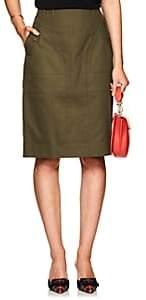 Altuzarra Women's Winterland Cotton Skirt - Dill