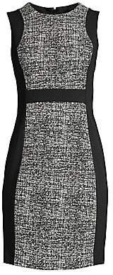 Donna Karan Women's Paneled Sheath Dress