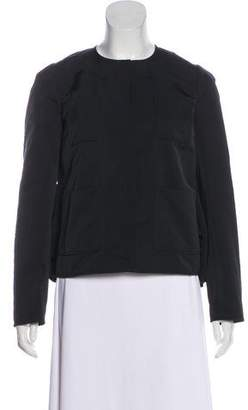 Rochas Button-Up Long Sleeve Jacket