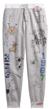 Polo Ralph Lauren Vintage Fleece Printed Sweat Pants