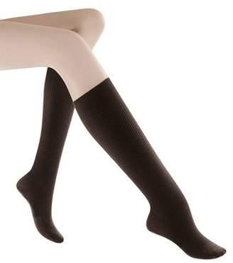 Generic Women's Casual Cotton Graduated Compression Socks