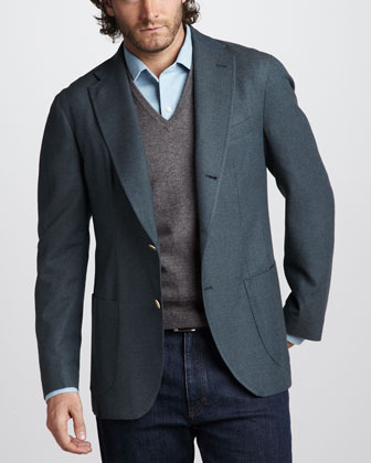 Loro Piana Cashmere-Silk Sport Coat