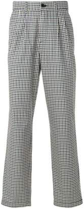 Barena checked trousers