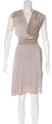 AllSaints Sleeveless Asymmetrical Dress