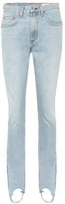 Rag & Bone Olivia high-waisted stirrup jeans