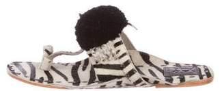 Figue Leo Ponyhair Sandals w/ Tags