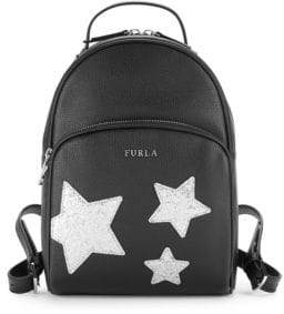 2bdbd198c8b7 Furla Frida Leather   Mesh Backpack