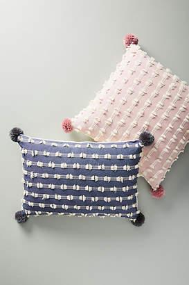Anthropologie Textured Mareika Pillow