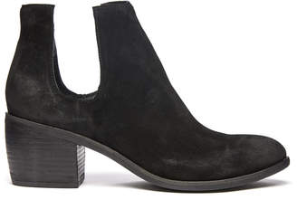 Silent D Oliver Suede Cut Out Bootie