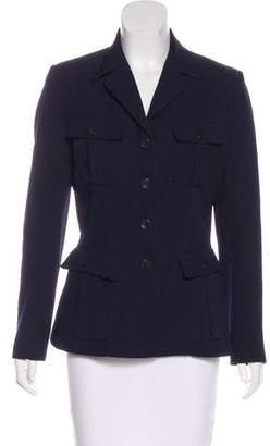 Henri Bendel Notched-Lapel Structured Blazer
