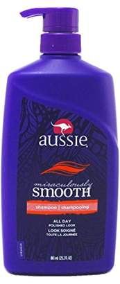 Aussie Shampoo Smooth Miraculously 29.2oz Pump (3 Pack)