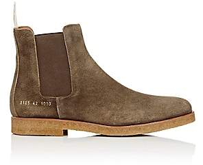 Common Projects Men's Suede Chelsea Boots - Brown