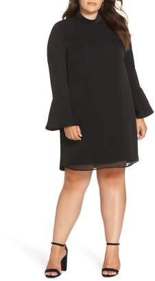 Glamorous Bell Sleeve Shift Dress