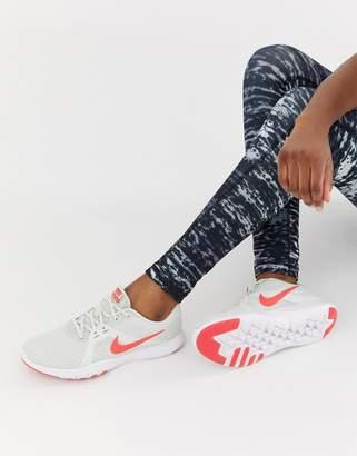 Nike Training Flex Sneakers In Grey