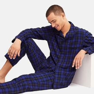 Uniqlo Men's Long-sleeve Flannel Pajamas