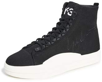 Y-3 Y 3 Yuben Mid Top Sneakers