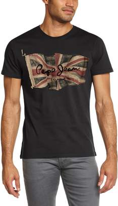 Pepe Jeans Mens Flag Slim Fit T-Shirt Size S