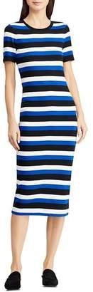Ralph Lauren Stripe Midi Dress